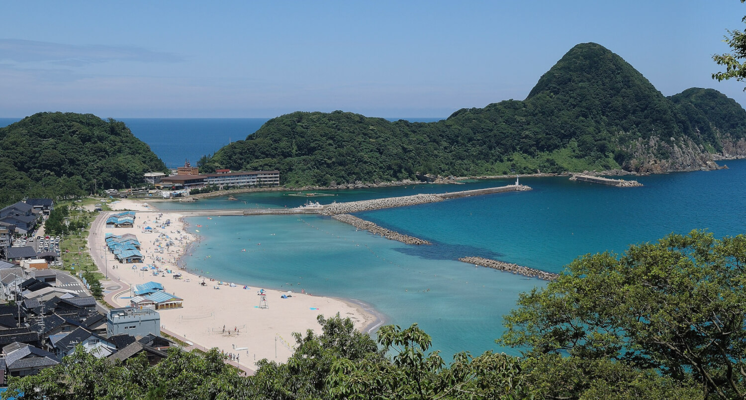Takeno Beach and Seaside Town best beach